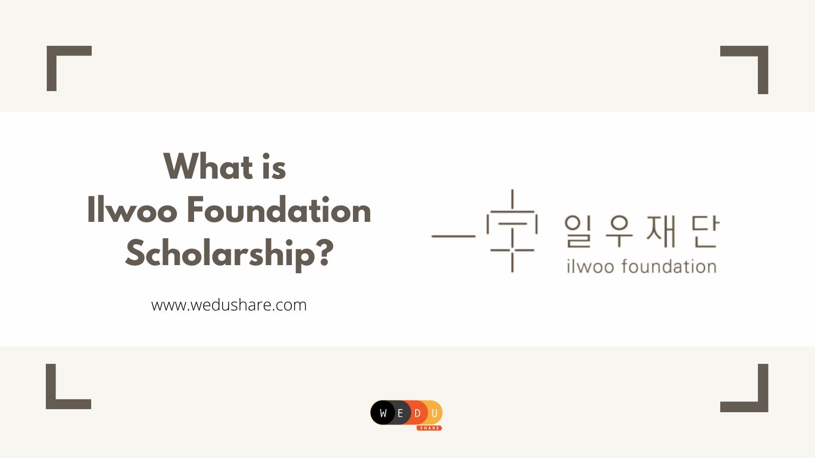 អ្វីទៅជាអាហារូបករណ៍ llwoo Foundation?