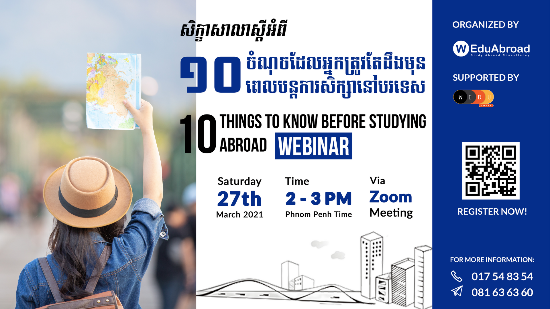 10 Things to Know Before Studying Abroad Webinar