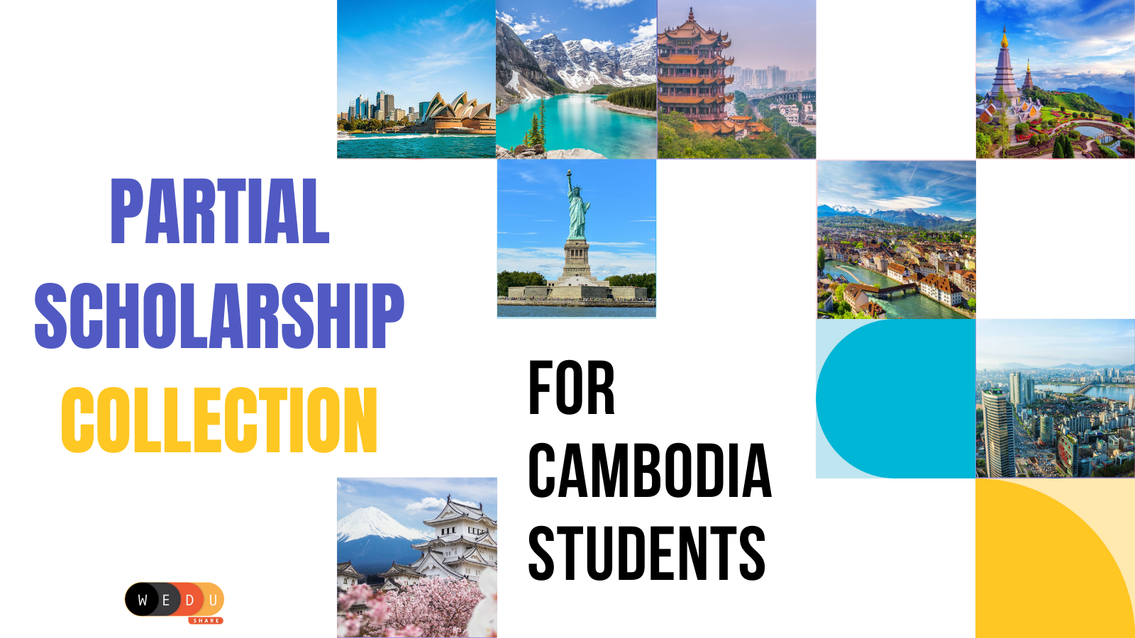 Partial Scholarship Collection for Cambodian Students
