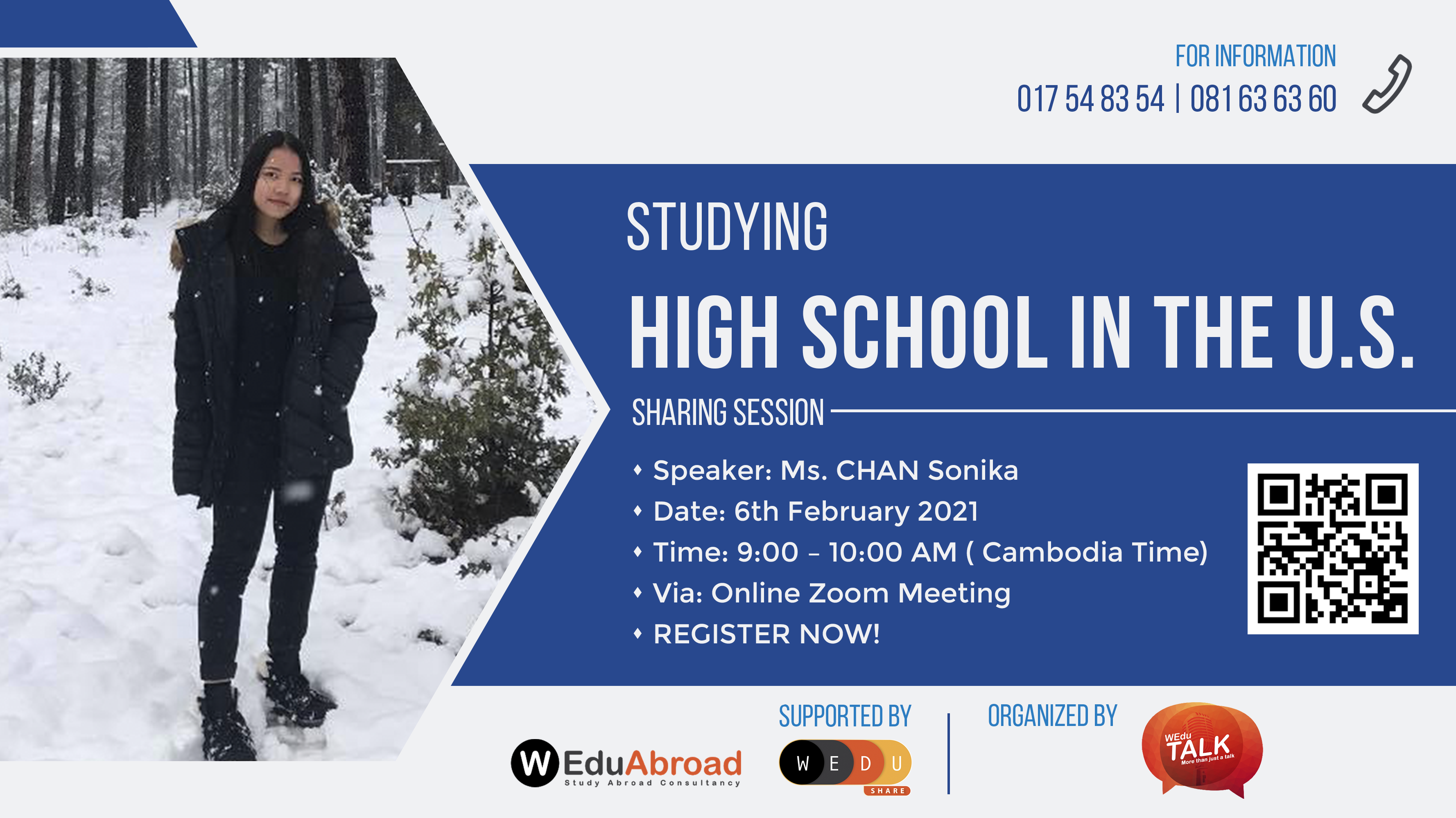 Studying High School in The U.S. Sharing Session