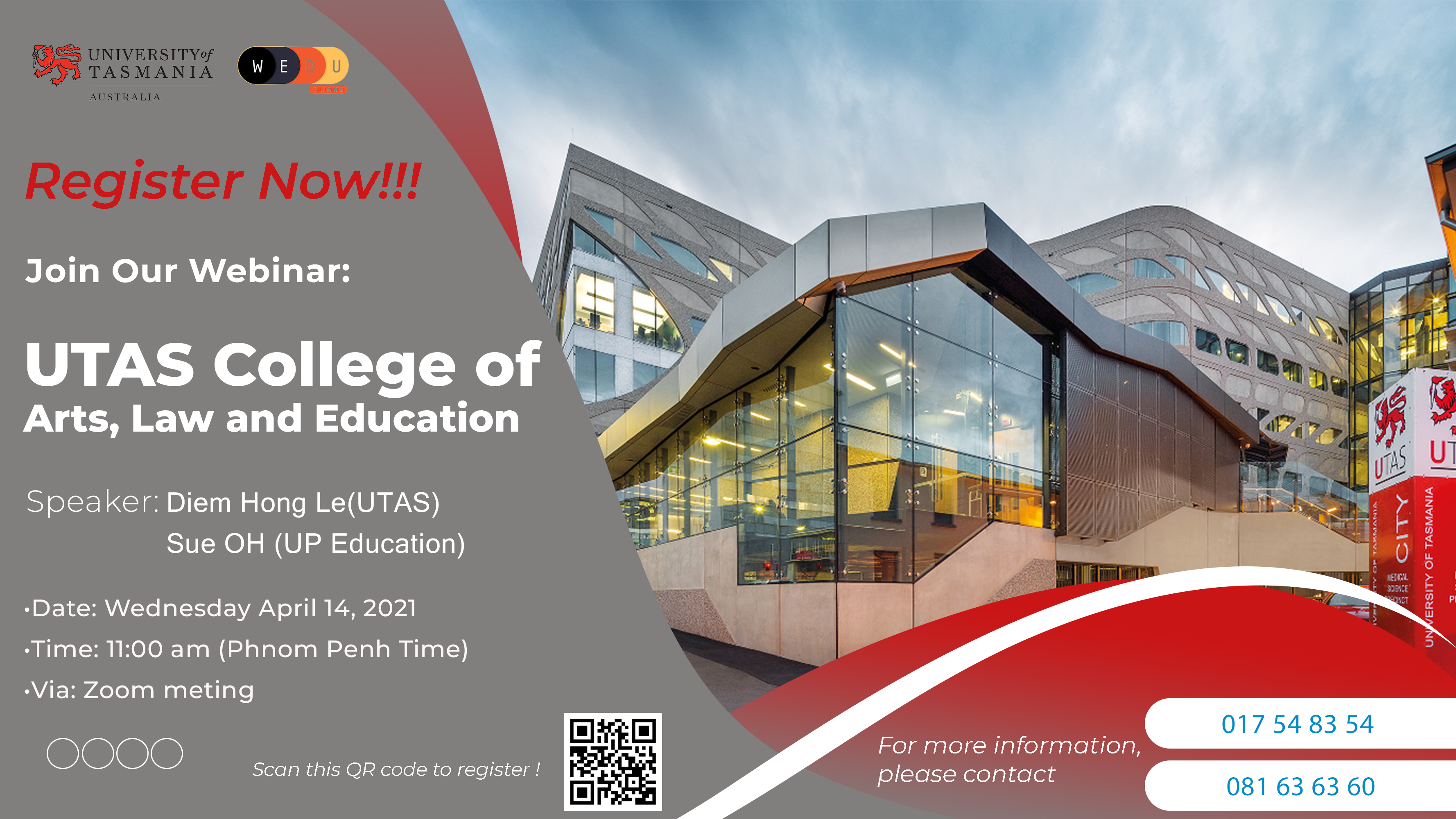 UTAS College of Arts, Law and Education
