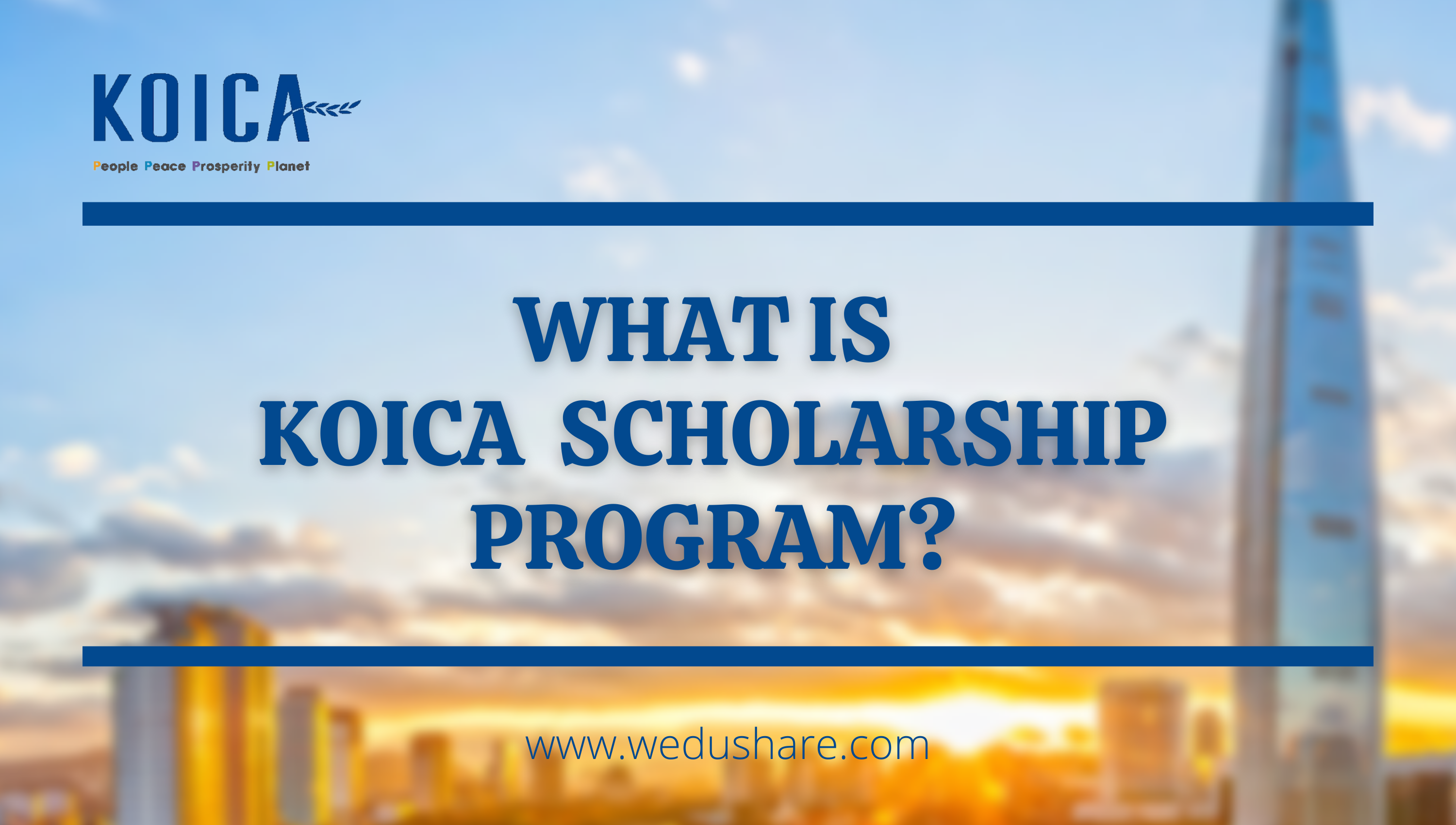 What is KOICA Scholarship Program?