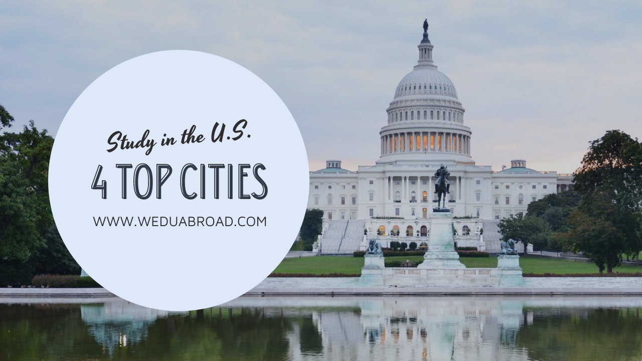 4 Top Cities for Cambodian Students to Go to Study in the United States