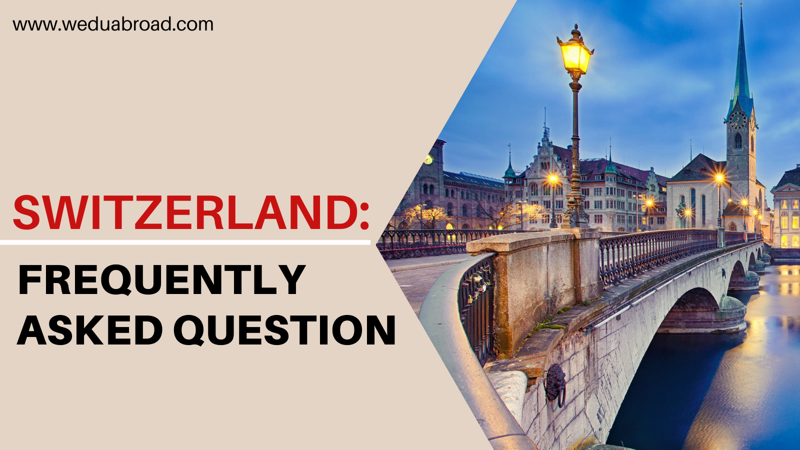 9 Frequently Asked Questions (FAQs) About Studying in Switzerland