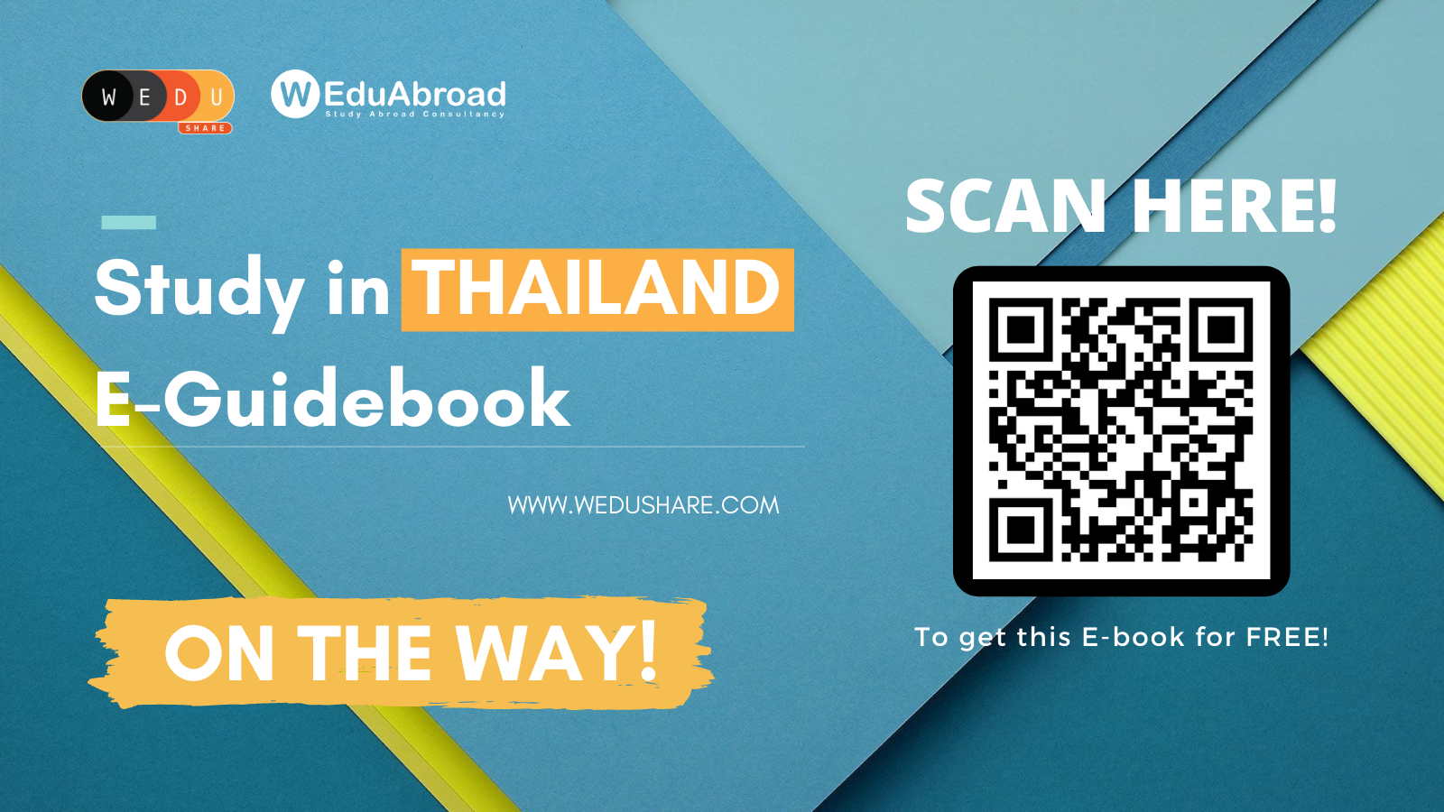 Exciting News for YOU! All-in-one Study in Thailand E-Guidebook is on the way!