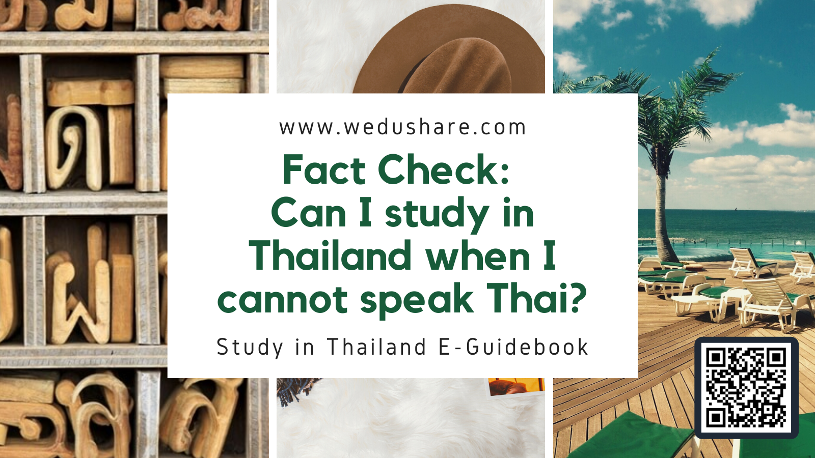 Fact Check: Can I study in Thailand when I cannot speak Thai?