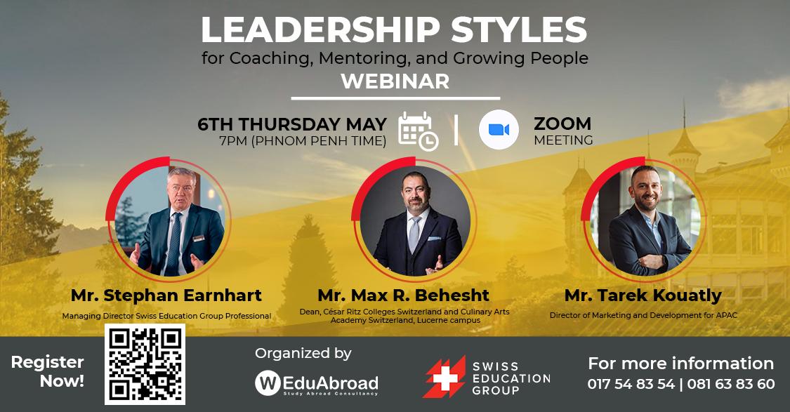 Leadership Styles for Coaching, Mentoring, and Growing People Webinar