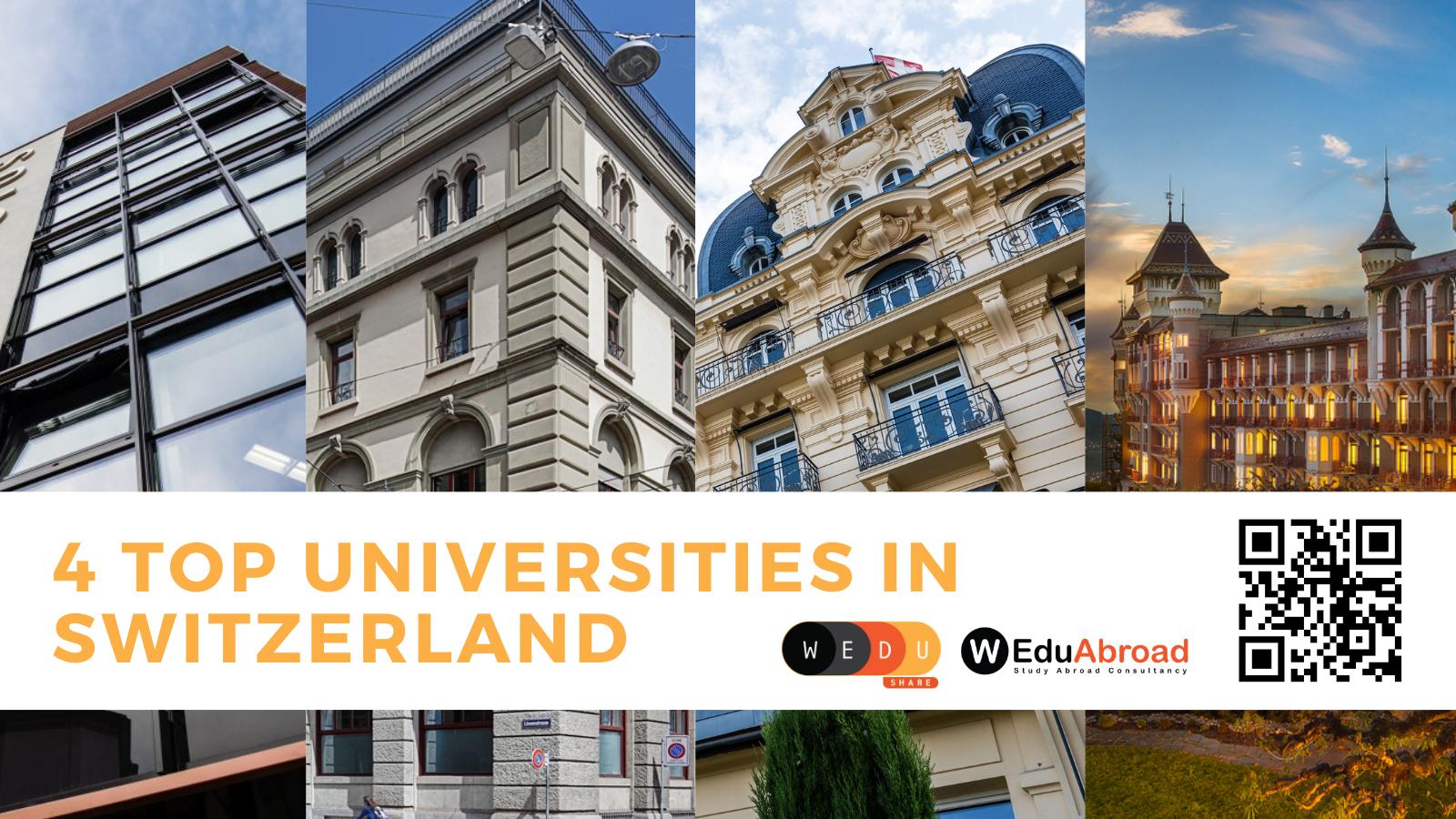 Study in Switzerland: 4 Top Universities to Consider