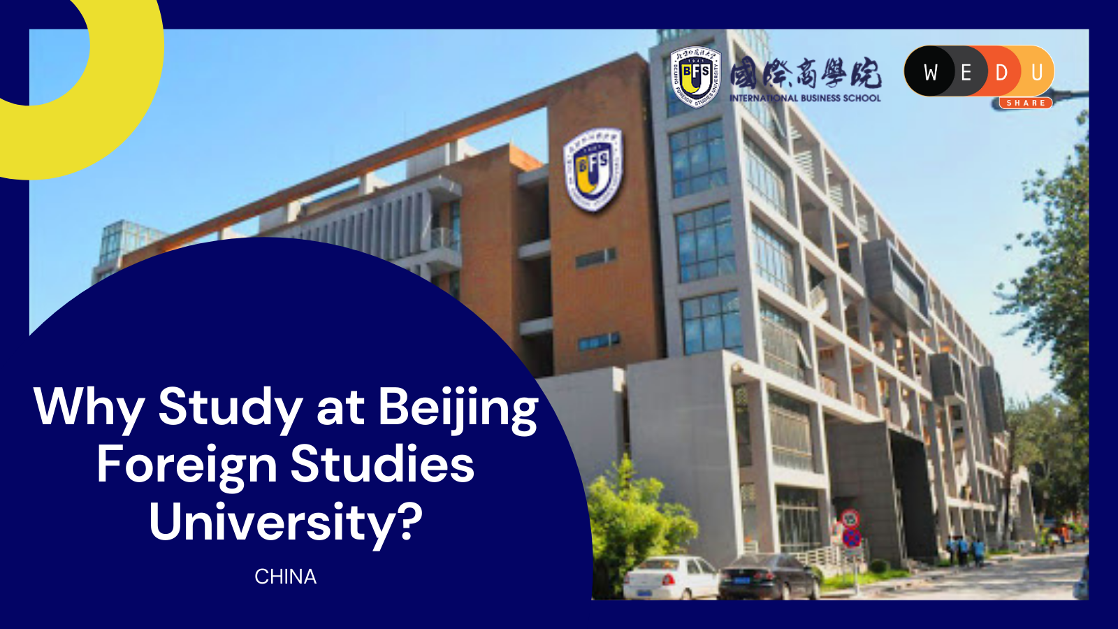 Why Should Study at Beijing Foreign Studies University in China?
