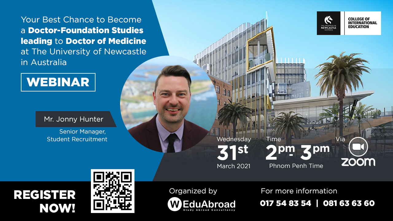 Your Best Chance to Become a Doctor-Foundation Studies Webinar