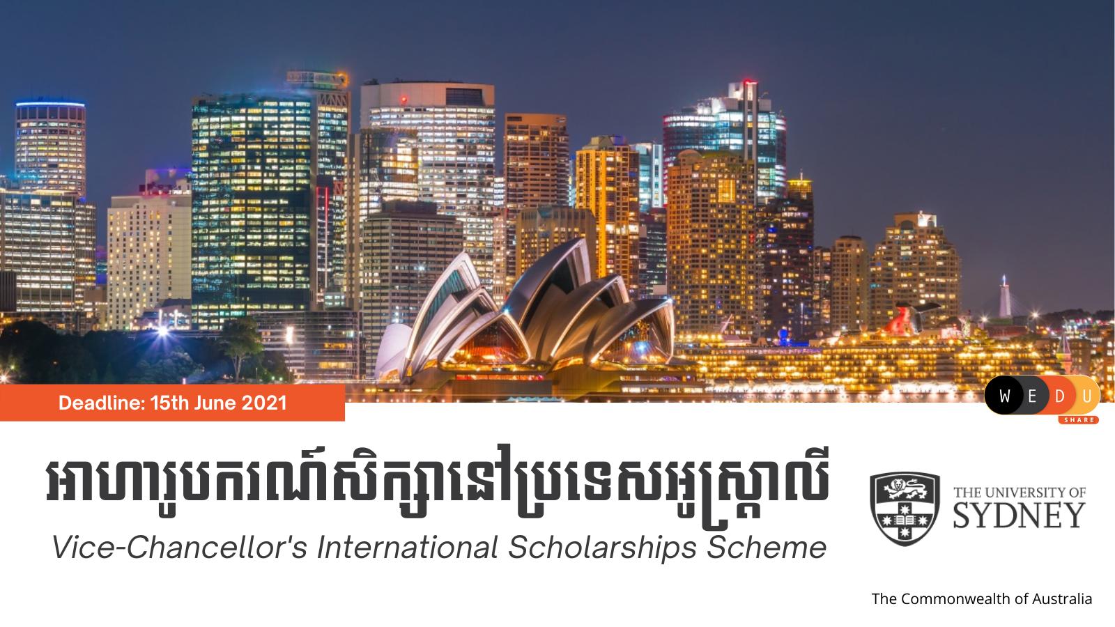 Vice-Chancellor's International Scholarships Scheme